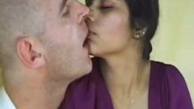 Horny indian couple plays with dildo on camera
