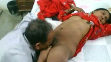 Two cocks for indian nurse