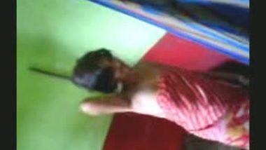 Hidden cam in changing room