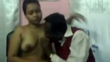 School girl gets punished.