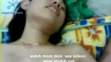 Indian lovers outdoor sex fun - recorded boob press and kissing
