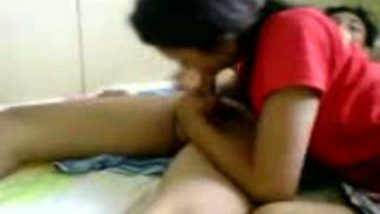 Desi babe with her man