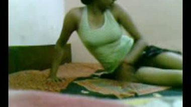 Woman is Saree stripping for you