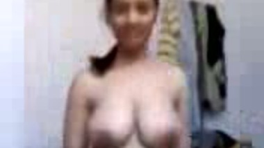Chubby Indian woman masturbating on webcam
