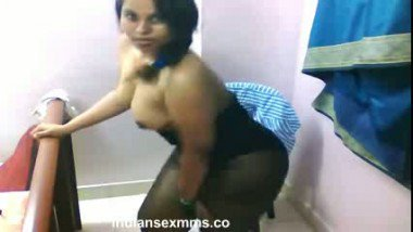 Cheating house wife foreplay with her lover