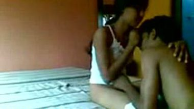 Manipal college girl hardcore sex with lover in car