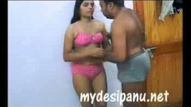 Desi maid undresses and shaving pussy before hardcore sex with owner