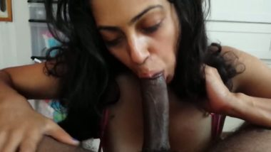 Horse-Face Ebony Bitch Gets Rectal Banged
