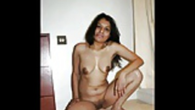Sexy Indian babe giving blowjob and smoking