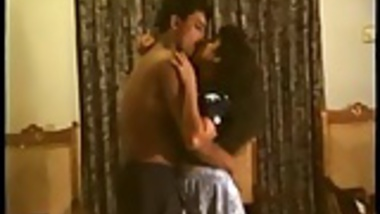 Indian Sexy chubby girl strips and seduces her Lover