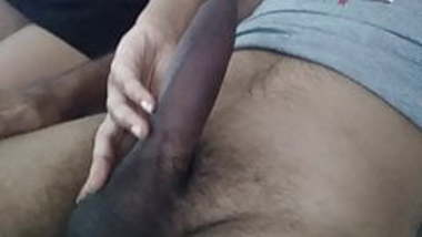Sexy innocent look wife sucks her hubby cock and he cums on her face