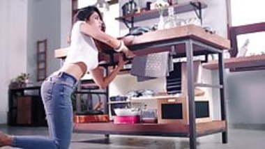 Hot Renu seducing her BF on webcam