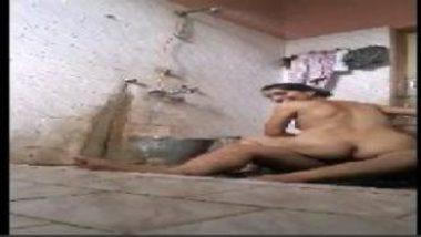 Busty desi aunty having a shower sex